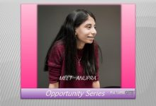 Photo of Opportunity Series: Meet Anupra: Her Vision to Extend Human Lifespan