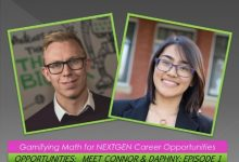 Photo of Opportunities: Meet Connor & Daphny: Episode 1: Gamifying Math for the NEXTGEN